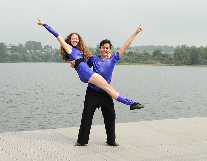Joanna und Tom
